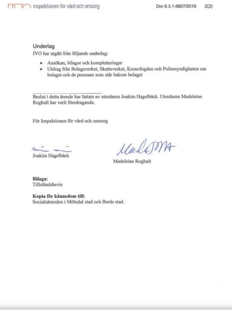 IVO beslut Casa Berget 2019 bild sid. 2